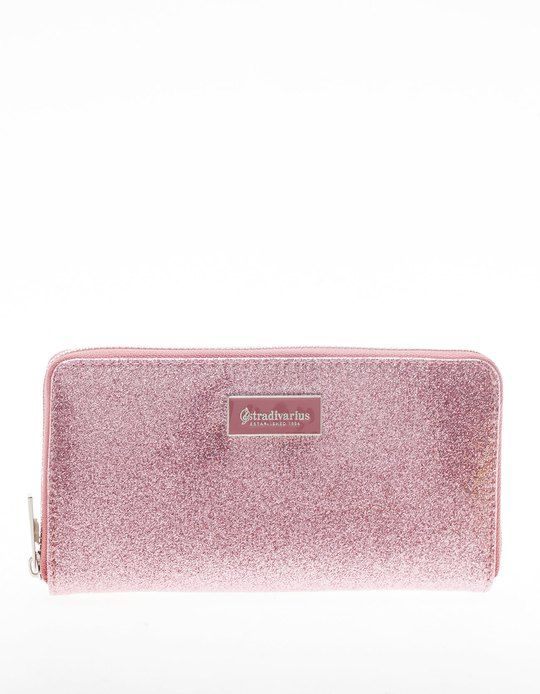 745a08d22 At Stradivarius you'll find 1 Glitter purse with metal plate trim for woman  for just 1290 Serbia . Visit now to discover this and more PURSES.