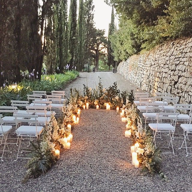 Church Wedding Decorations Ideas For Your Wedding In Italy: Tuscany, Italy #weddingceremony #eucca Floral Design