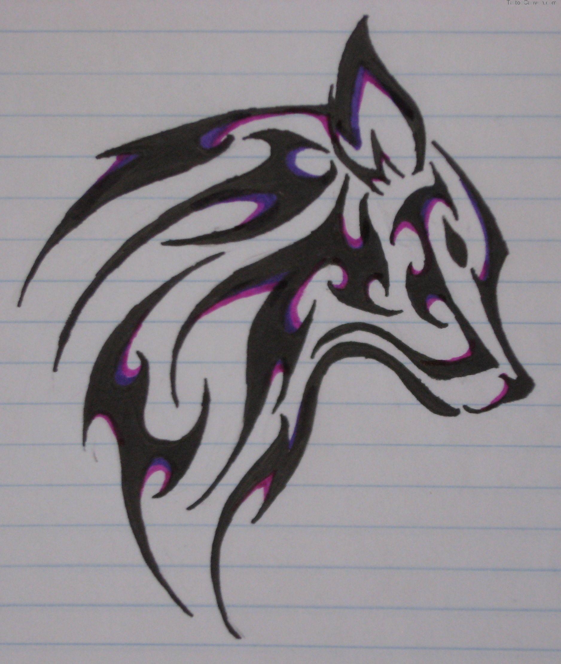 картинки как рисовать тату ручкой определённые