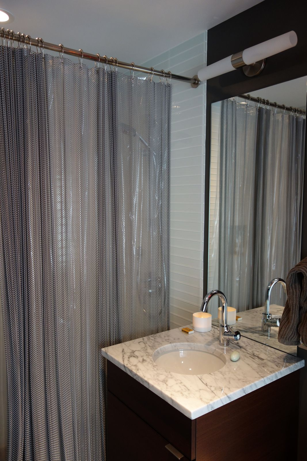 Chainmail Shower Curtain