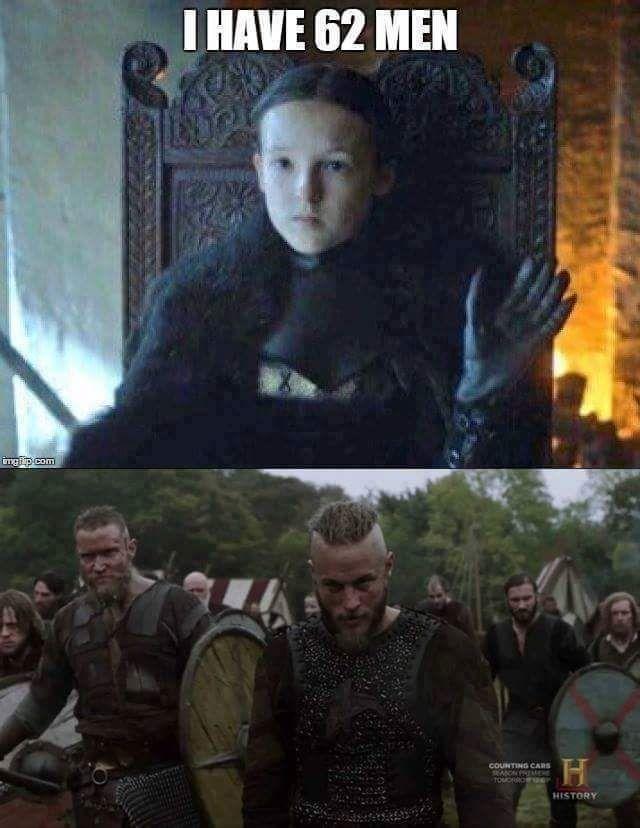 Game Of Thrones Vikings Funny Meme Funny Memes Images Game Of Thrones Funny Memes