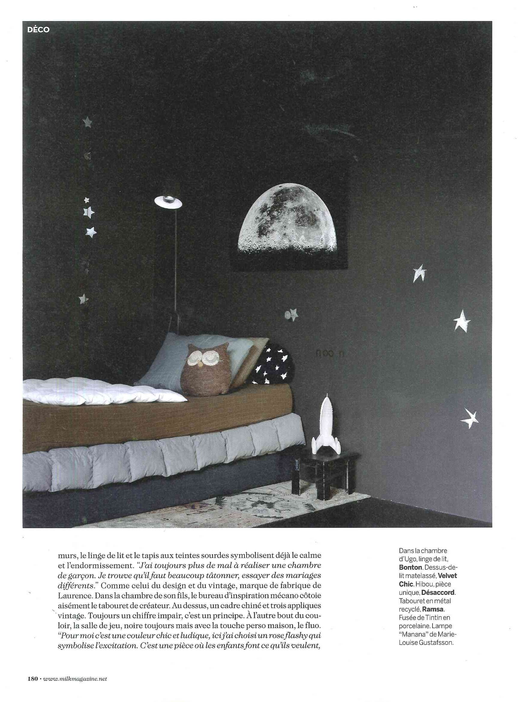 Milk Magazine N 33 Laurence Simoncini Serendipity Co Founder At Home Chambre Enfant Decoration Chambre Enfant Idee Chambre Enfant