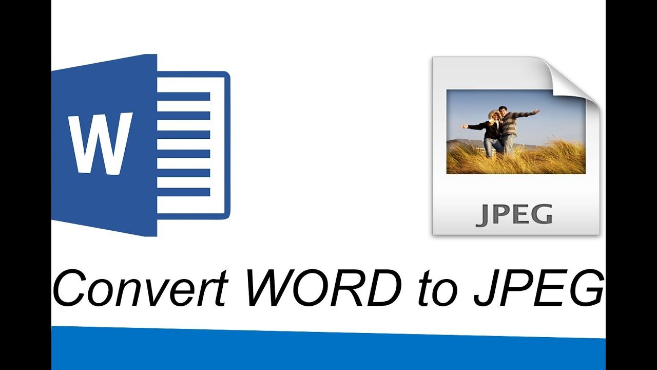 How To Convert A Word Document To Jpeg Words Converter Mac Computer