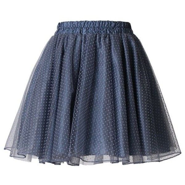 Tulle Polka Dots Skater Skirt ❤ liked on Polyvore featuring skirts, bottoms, polka dot skirt, knee length tulle skirt, polka dot tulle skirt, tulle skirt and flared skirt