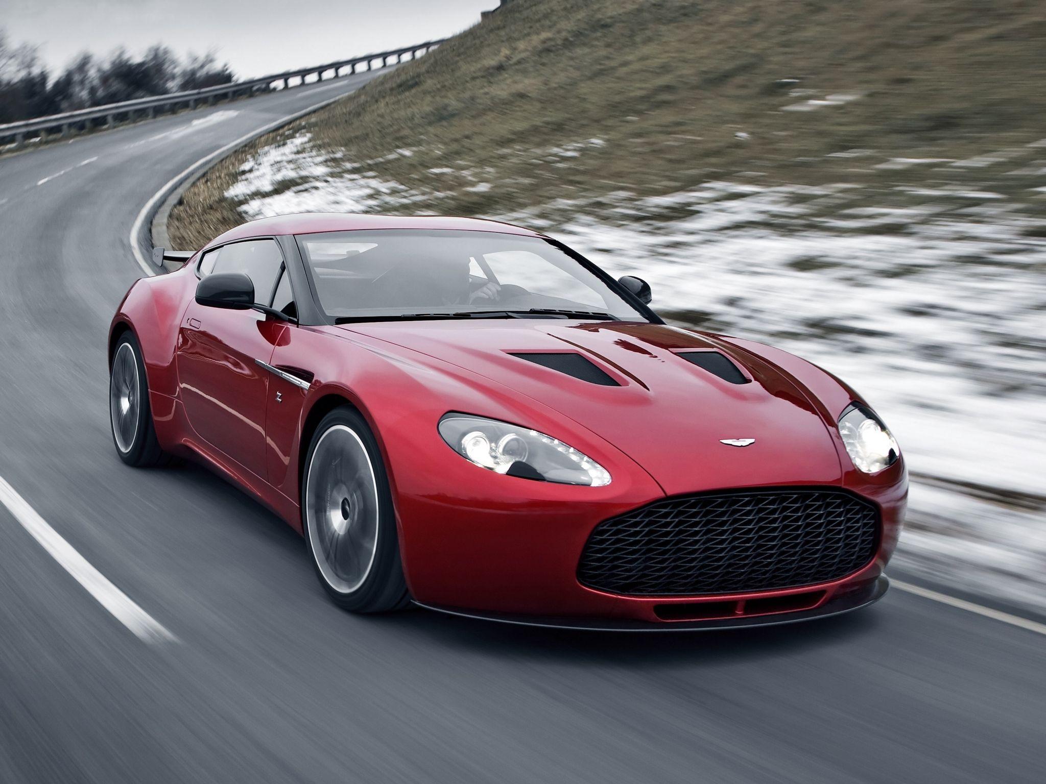 Aston Martin V12 Zagato Top Car Love Pinterest
