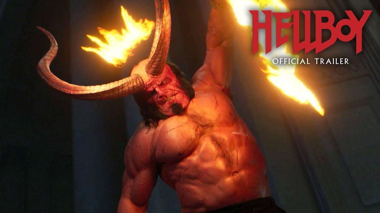 Hellboy 2019 Movie New Trailer Red Band David Harbour Milla Jovov Milla Jovovich Lionsgate Movies Hellboy Movie