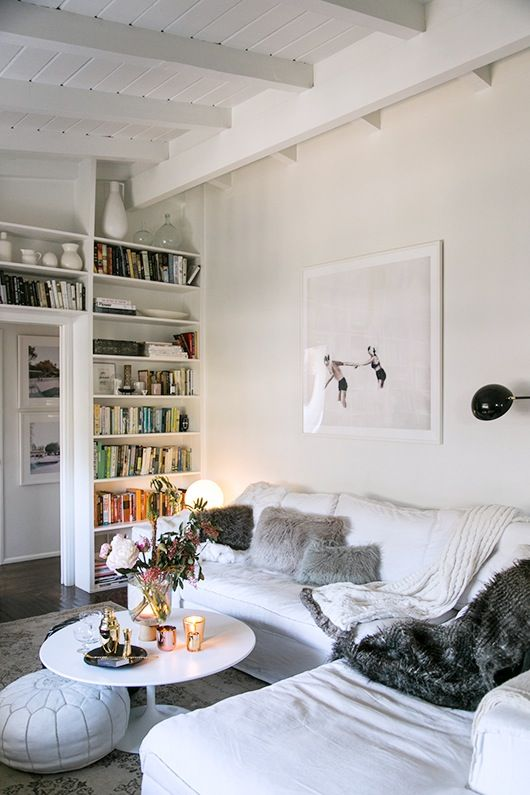 Neutral Isn't Boring: 14 Living Rooms that Prove It   Apartment Therapy