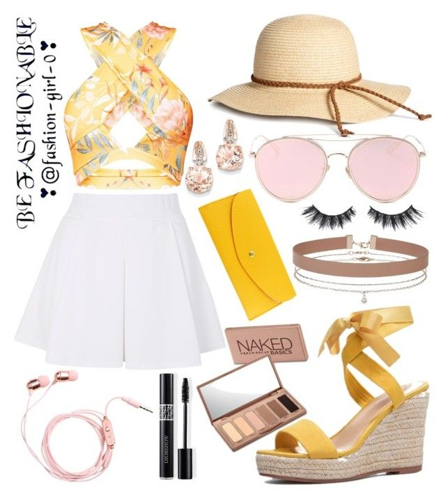 """""""Summer Queen"""" by childishlambino on Polyvore featuring Topshop, JustFab, BillyTheTree, Miss Selfridge, LMNT, Christian Dior, Urban Decay and Violet Voss"""