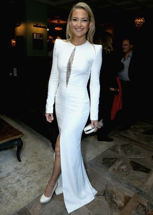 Kate Hudson Wears an Alexander McQueen Dress | More Kate hudson ideas
