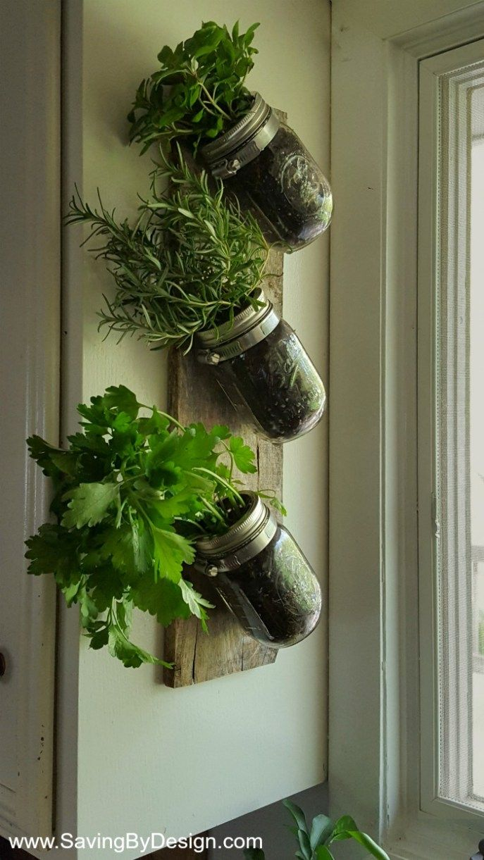 Mason Jars Clamps And A Piece Of Wood Are All You Need To Create