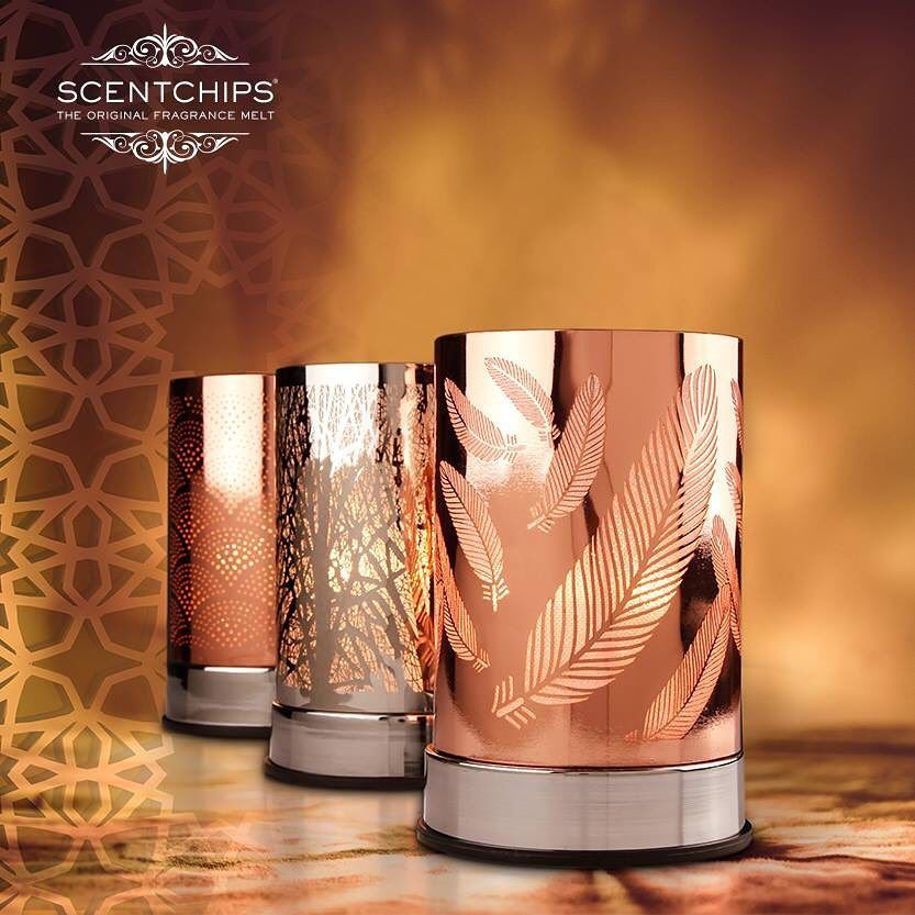 These Super Chic Touch Lantern Wax Warmer Designs Match Perfectly With Your Modern Decor While The Sparkly Interior Creates Warm Design Touch Lamp Scented Wax