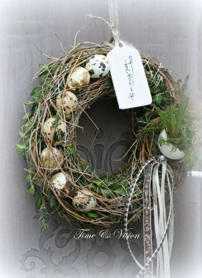 Photo of tinker decorations in spring