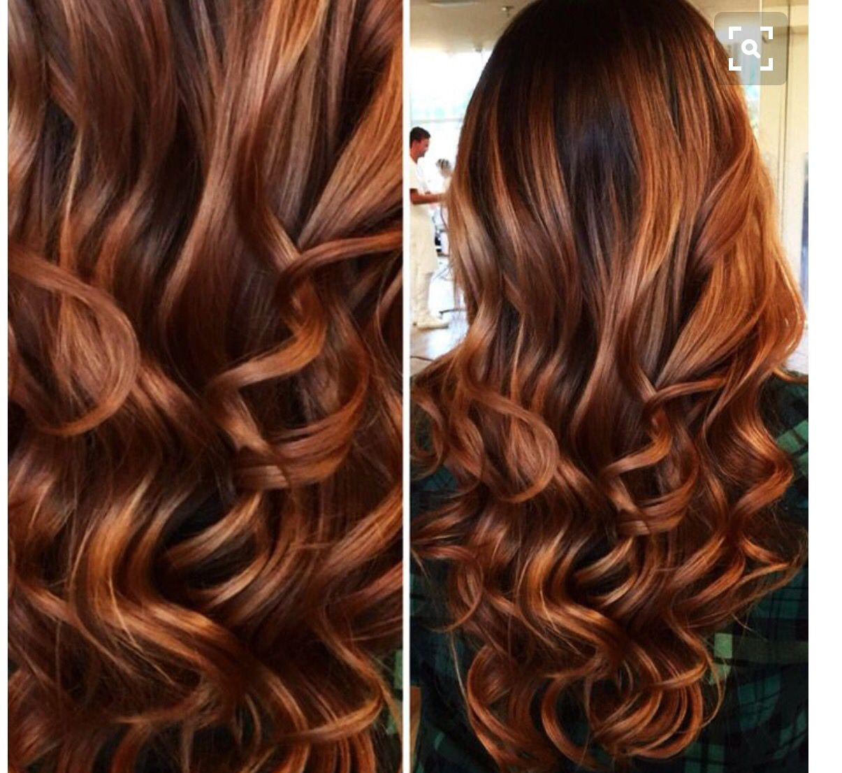 Ruivo Cobre Mechas Caramel Pinterest Hair Hair Styles And