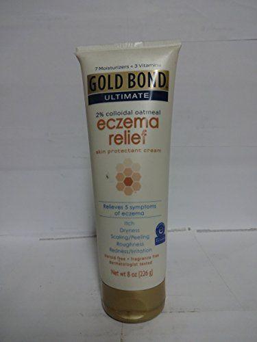 Gold Bond Ultimate Eczema Relief Skin Protectant Cream, 2% Colloidal Oatmeal, (8 oz)