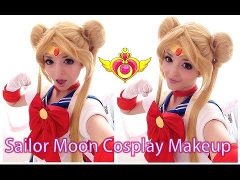 Sailor Moon Cosplay Makeup Tutorial Transformation Sailor Moon Makeup Sailor Moon Cosplay Cosplay Makeup Tutorial