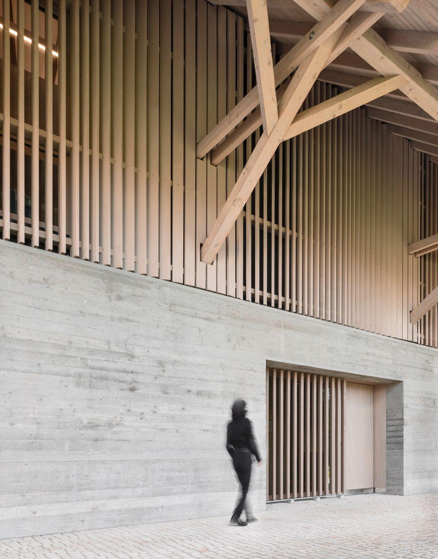 Stadel für Leseratten - Bibliothek in Kressbronn am Bodensee von Steimle Architekten #arquitectonico
