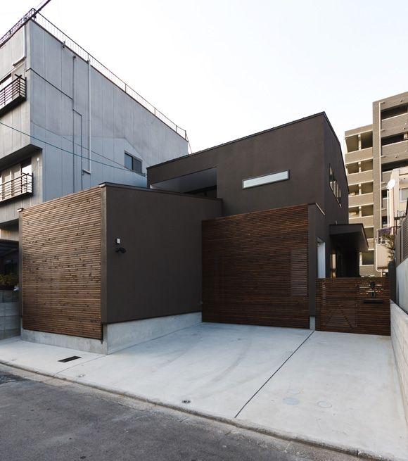 京都の坪庭ハウス 自宅 Pinterest Arquitectura Casas Fachadas