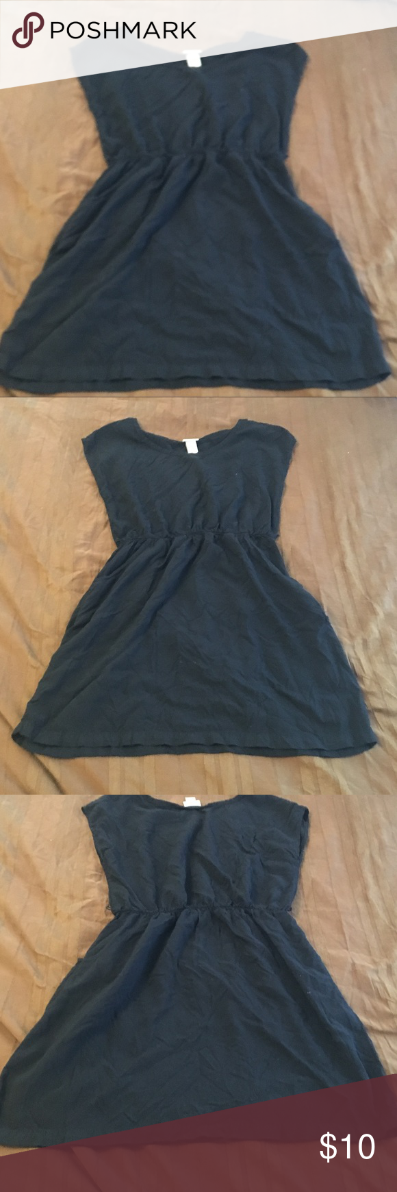 cb6d2752c58d1 Mossimo Mini Dress Mossimo Mini Dress. Black short sleeve mini dress with  pockets Mossimo Supply Co. Dresses Mini