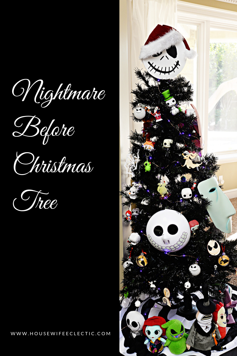 The Nightmare Before Christmas Tree | Crafts I am saving for later ...