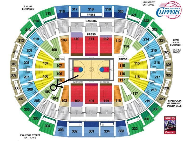 You Are Buying 2 Side By Side Tickets For The Los Angeles Clippers
