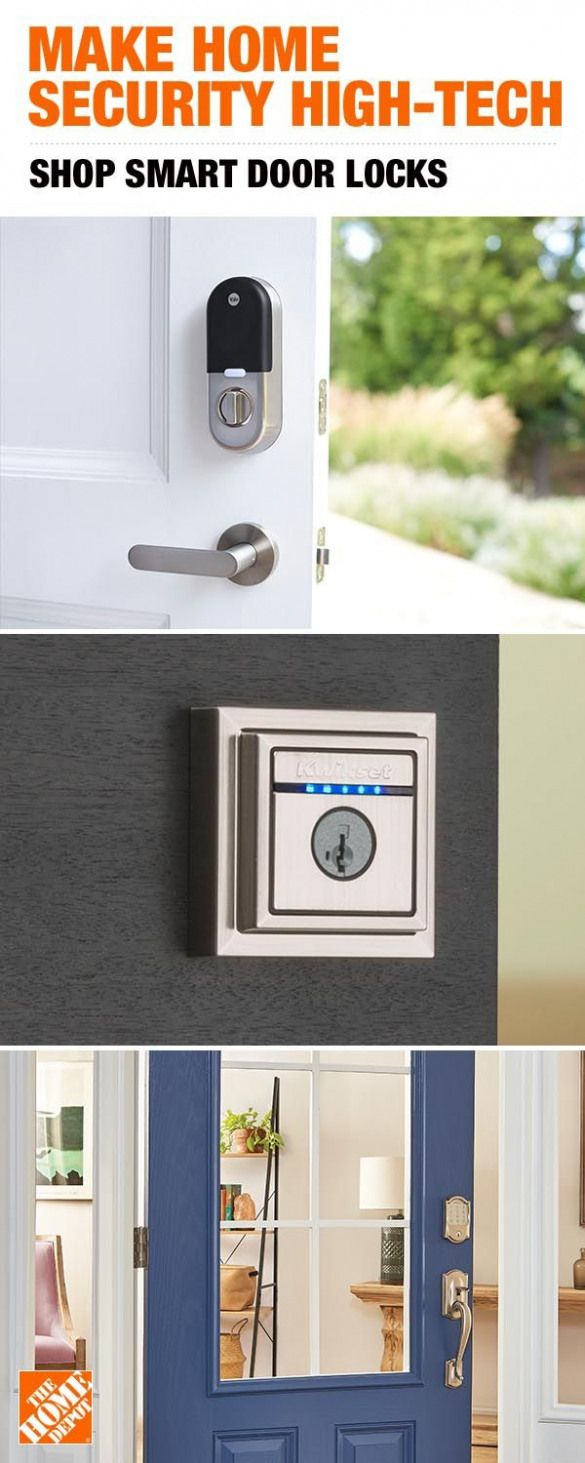 Gift Dad a smart door lock from The Home Depot. The Nest x