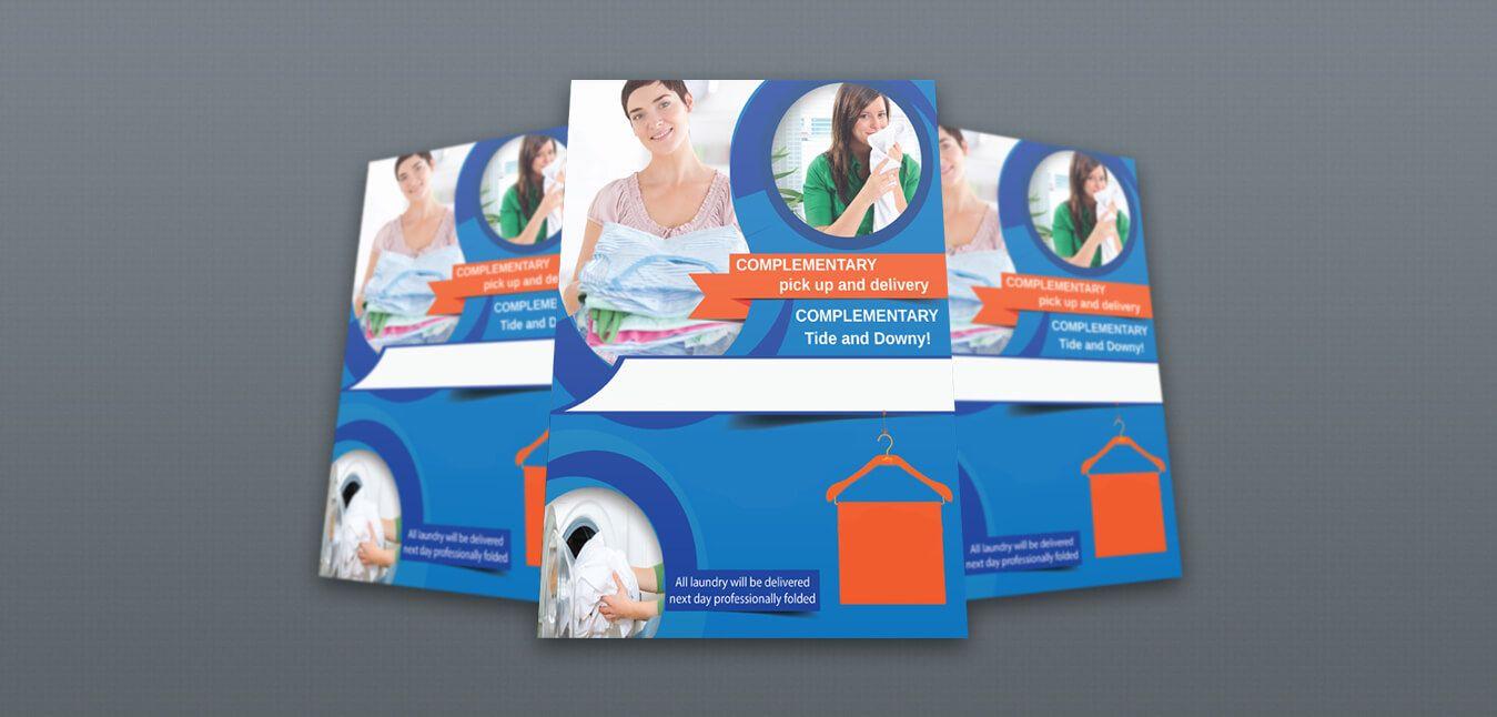 Laundry Brochure Design Service Best Laundry Brochure Templates