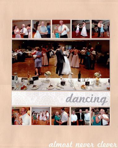 Scrapbook Layout Wedding Scrapbook Reception Dancing Layout Wedding Scrapbooking Layouts Wedding Scrapbook Wedding Scrapbook Pages