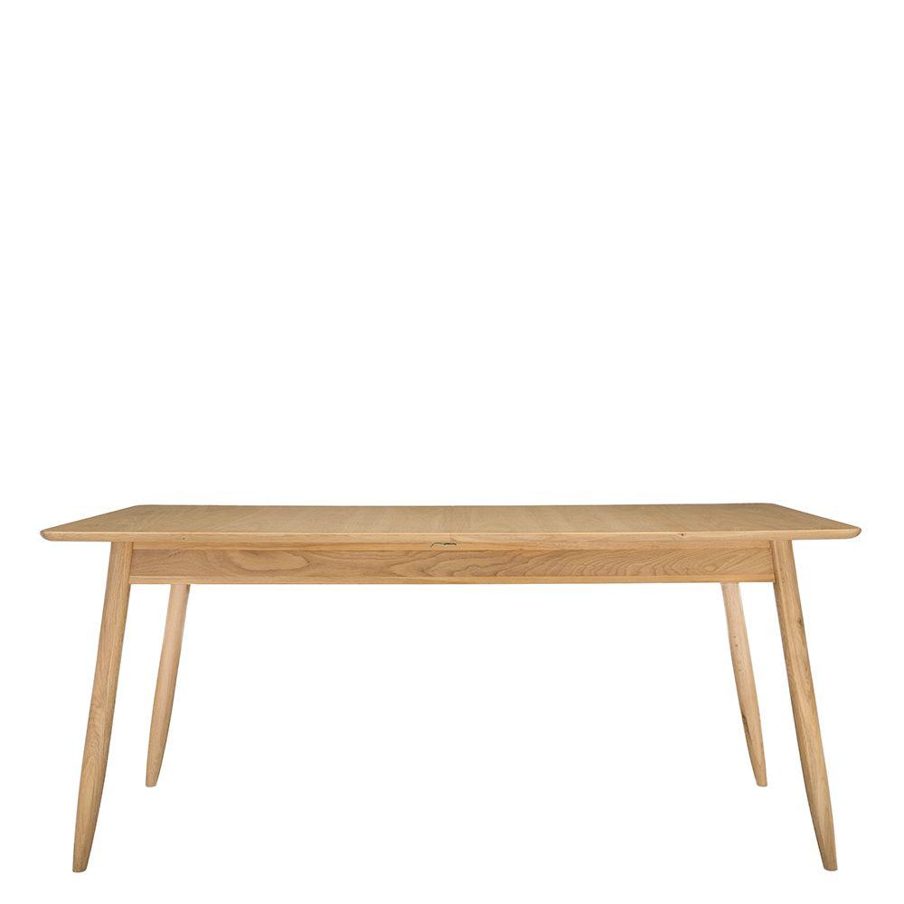 Ercol Teramo Medium Extending Dining Table, Pale Oak | Tables | Dining Room