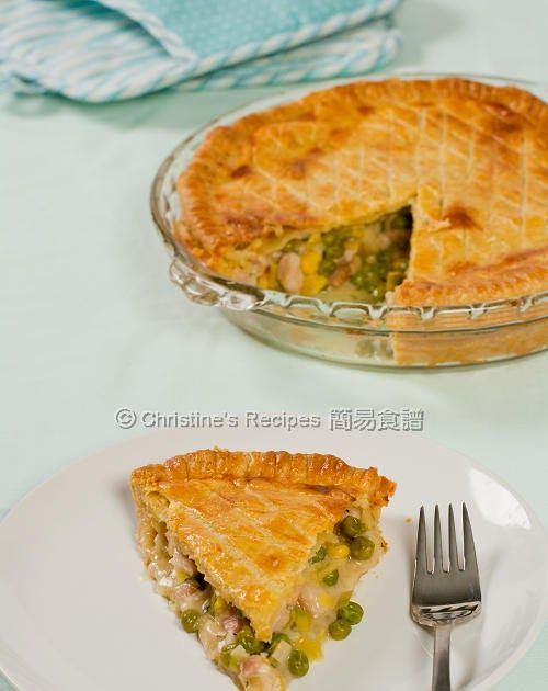 Chicken Leek And Pea Pie Maggie Beer S Sour Cream Pastry Sour Cream Pastry Christine S Recipe Chicken And Leek Pie