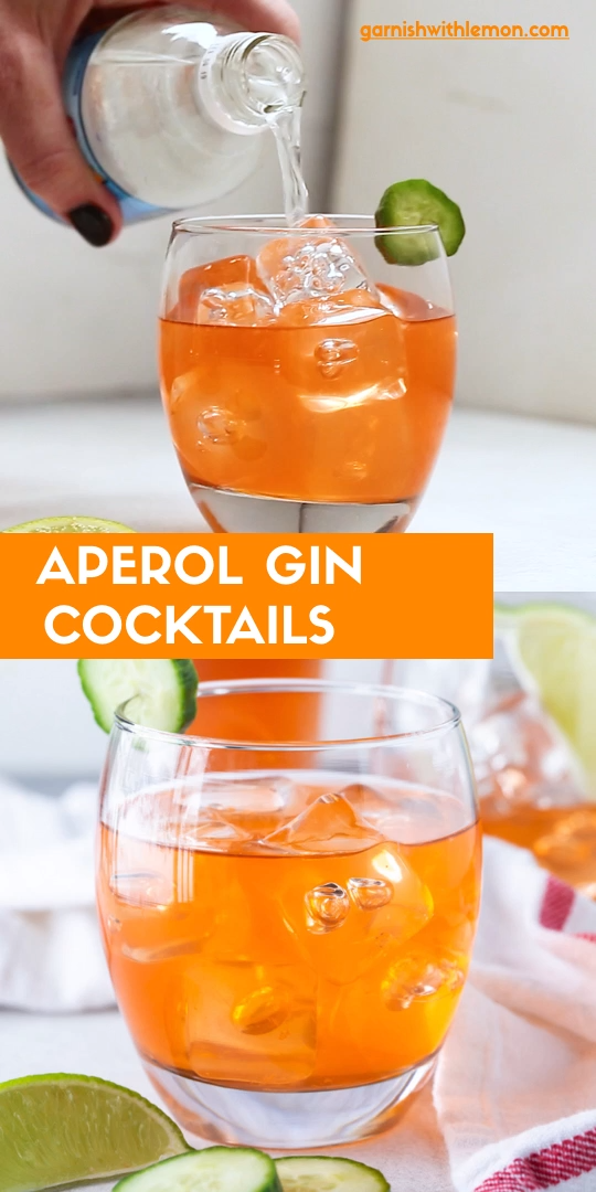 Photo of Aperol Gin Cocktails