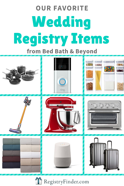 Top 20 Wedding Registry Items From Bed Bath Beyond Wedding Registry Items Bridal Registry Items Bridal Registry