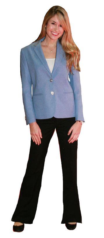 17 Best images about Women's blazers on Pinterest | Carolina blue ...