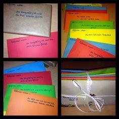 traurige Briefe über die Liebe