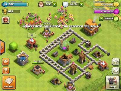 Clash of clans hack private server no root or surveys - Clash of Clans Hack…