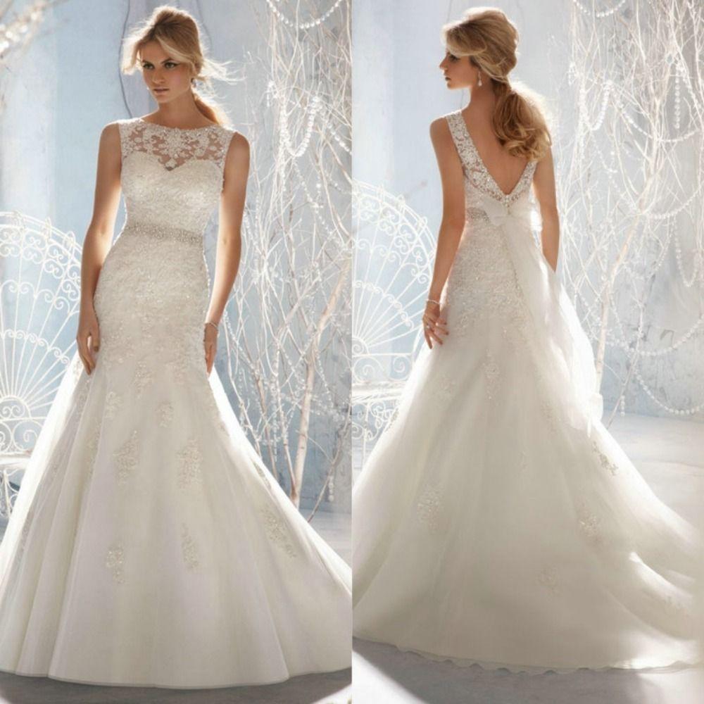 Vestidos de novia sencillos mercado libre