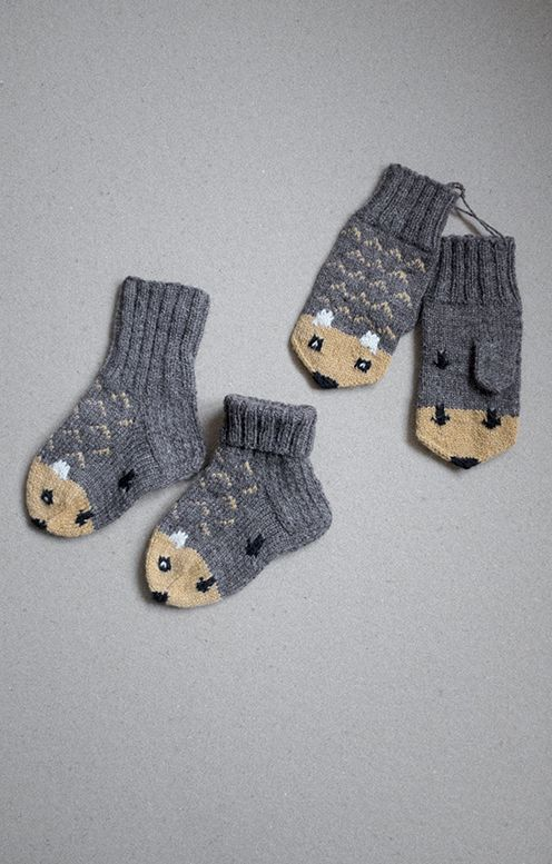 Fine Little Day Mitten and Socks | GUANTES | Pinterest | Guantes ...
