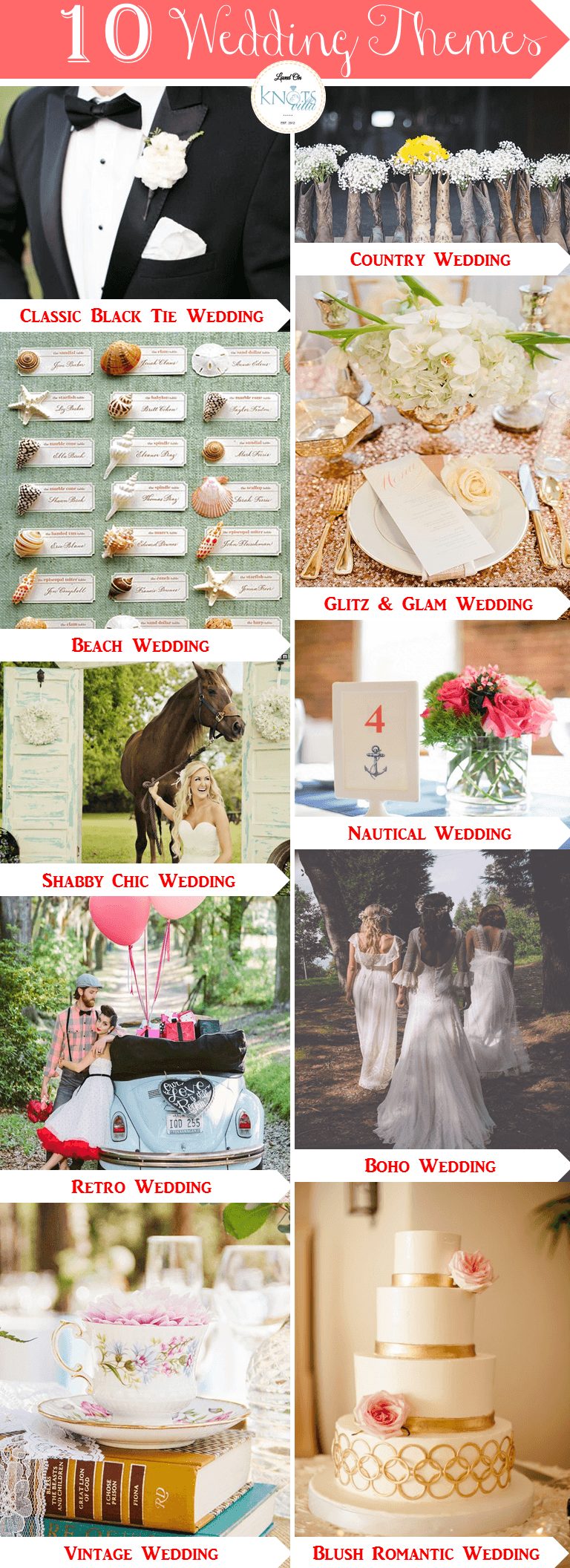 Top 10 Wedding Themes Creative Ideas For Your Wedding Wedding