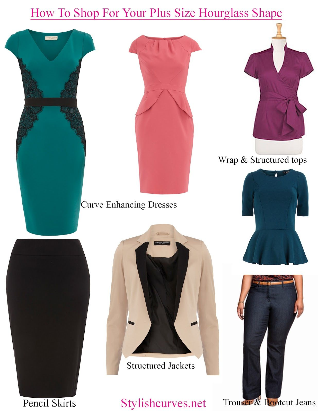 Dresses for apple shaped women - Tops For Rectangle Shaped Women Style Goal Hourglass Shapes Much Like The Apple Tend