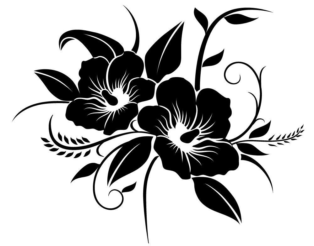 Картинка шаблоны черного цвета