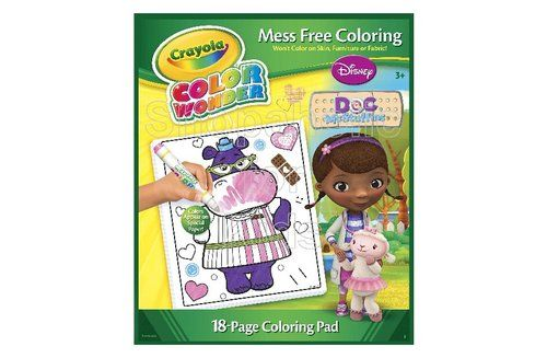 Crayola Color Wonder Coloring Pad, Doc McStuffins | Code: 01422 | To ...