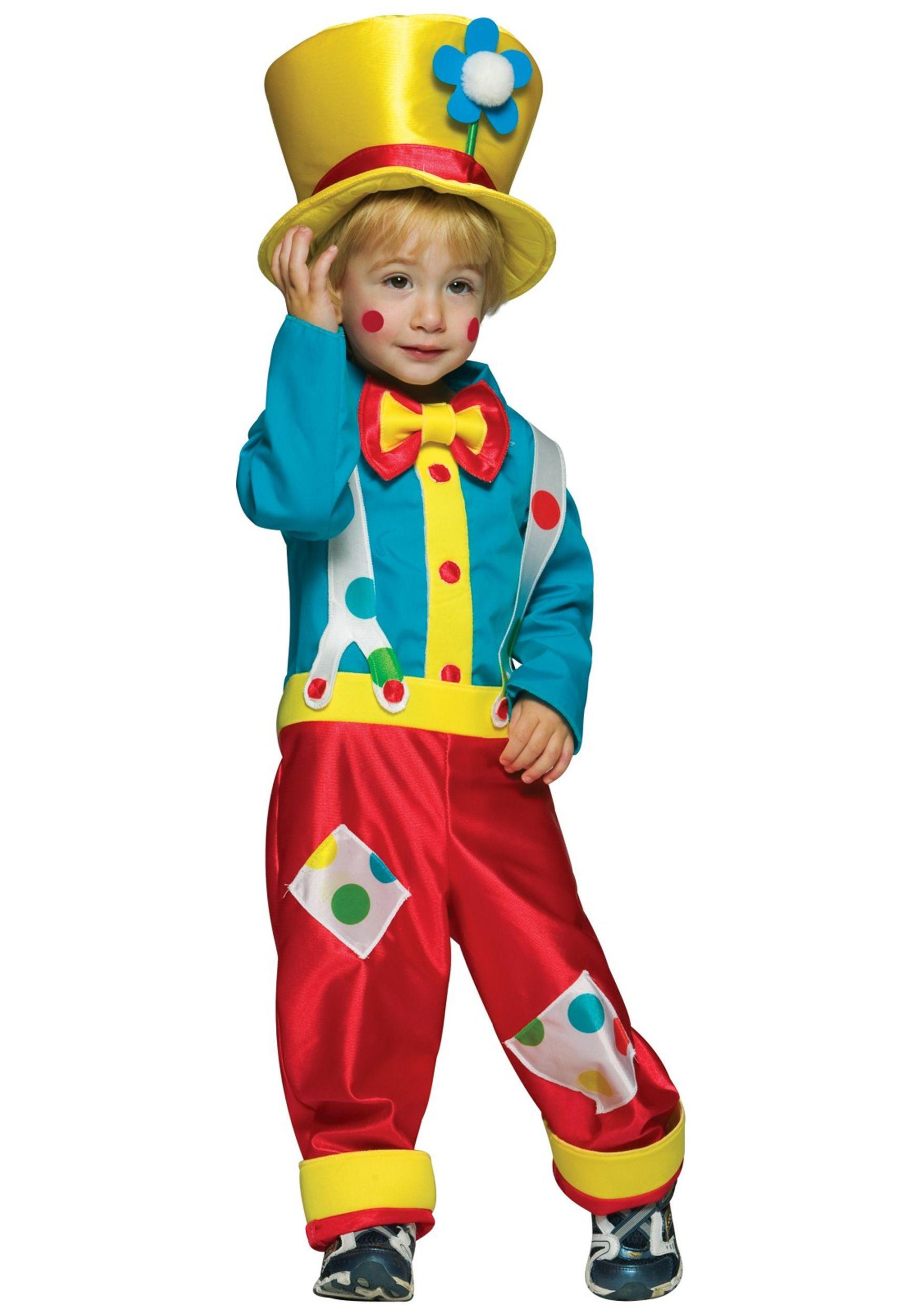 happy halloween toddler boys clown costume 2399 - Mad Hatter Halloween Costume For Kids