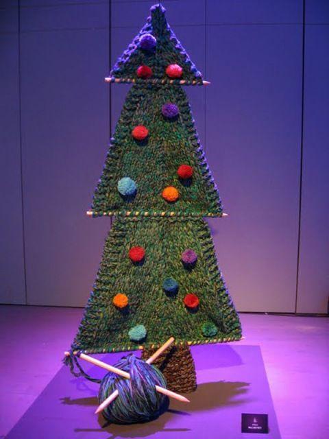 Let's knit a tree!