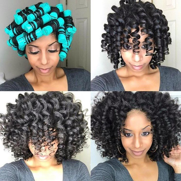 317 8k Followers 990 Following 5 762 Posts See Instagram Photos And Videos From Voiceof Roller Set Hairstyles Natural Hair Styles Short Natural Hair Styles