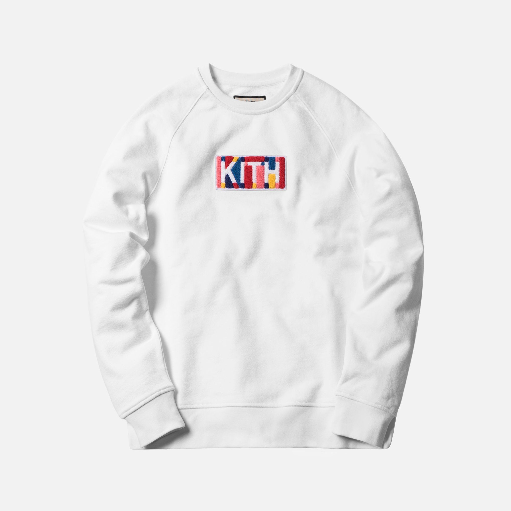 a92d39f2 Kith Geo Color Crewneck - White | Hypebeast | Crew neck, Color ...