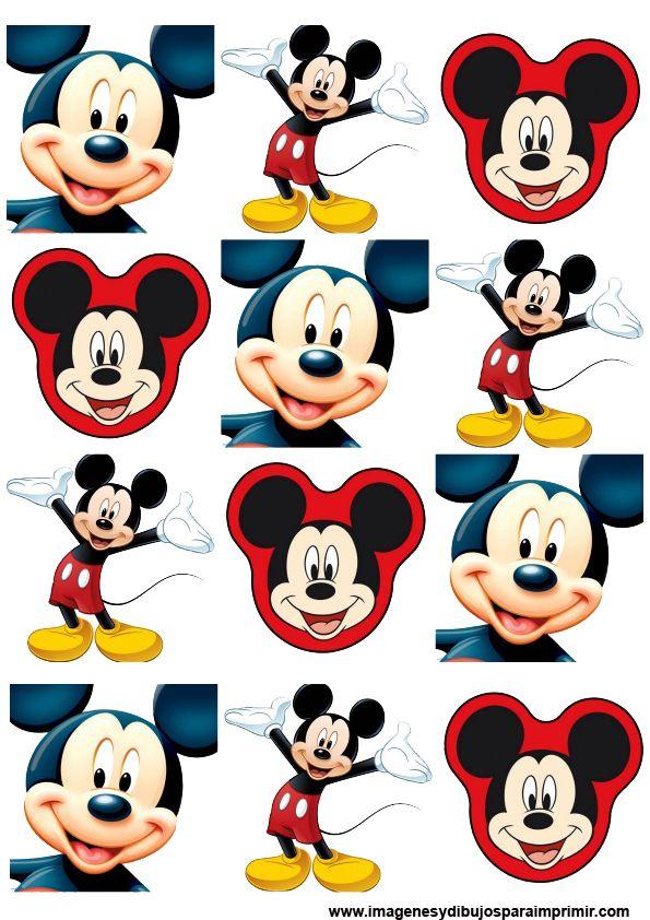 Pegatinas para imprimir de mickey mouse pinteres - Pegatinas disney para habitaciones ...
