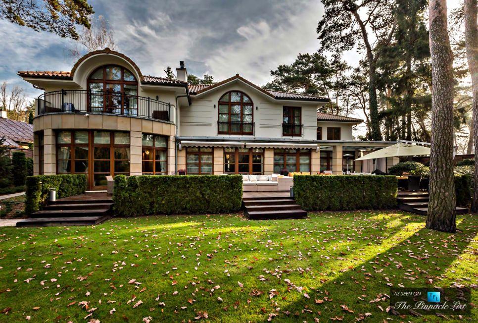 Konstancin Jeziorna Luxury Villa Residence Warsaw, Poland