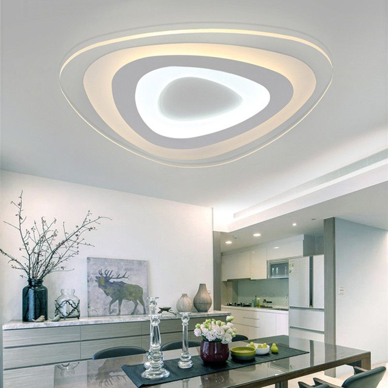 Find More Ceiling Lights Information About Modern Slim Acryl Led Ceiling Light With Remove Control Home Ceiling Lights Ceiling Design Modern Led Ceiling Lights