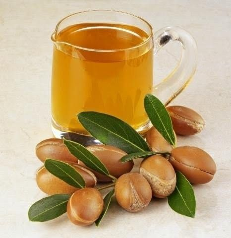 "The Argan Oil is what makes ""Moroccan oil"" one of the hottest spa products in the beauty market today. The Argan tree can only grow in Morocco's special climate. This is what the Argan Nuts look like."