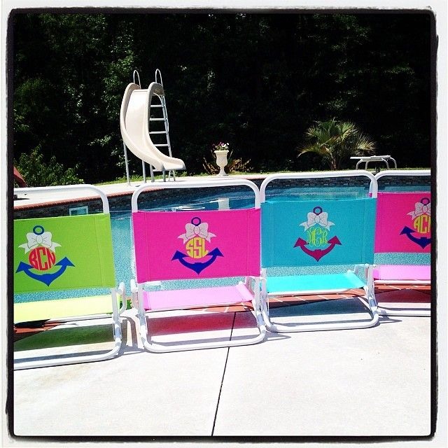 Love our new preppy beach chairs  Orders yours now before we