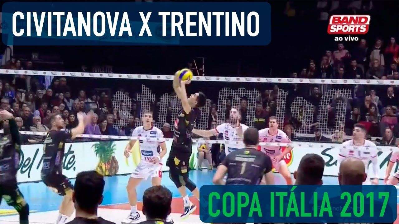 Civitanova x Trentino - Final - Copa Itália Masculina de Vôlei 2017